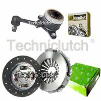 VALEO 2 PART CLUTCH KIT AND LUK CSC FOR RENAULT FLUENCE SALOON 1.5 DCI