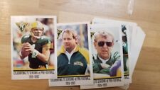 GREEN BAY PACKERS 1993 POLICE CARD SET 20 CARDS FAVRE REGGIE WHITE 1ST ROOKIE