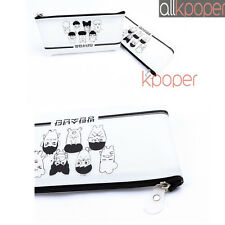 KPOP BTS Pencil Case Bangtan Boys Pen Box Crayon Jung Kook V JIMIN SUGA