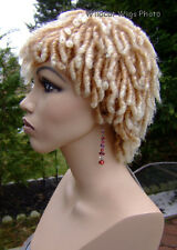 Dreadlocks . Dreads ..Rachel Wig . Hot!!  27T613 -Strawberry tipped with blond *