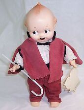 1986 Rhett from Gone with the Wind Kewpie Doll Baron, By Jesco, New with Tag