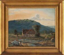 Peintures et émaux du XIXe siècle et avant huiles signés école hollandaise