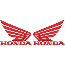 2 Honda wing Logo Vinyl Decal Car Truck Window Sticker Motorcycle Racing Bumper