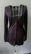 NEW Jay Jays Size XS Cardigan, Grey New With Tags, Light, Sheer. Pockets