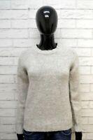 Maglione PEUTEREY Donna Taglia M Pullover Cardigan Sweater Woman Lana Grigio