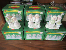CHRISTMAS WHOLESALE LOT Of 10 Sets of 3 SNOW CHILDREN New In Box LINCOLNSHIRE