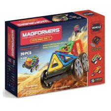 Genuine Authentic MAGFORMERS Racing 39 pcs Set Magnetic construction building