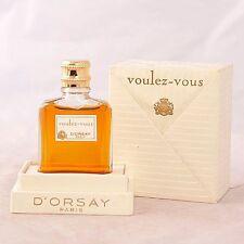 Vintage D'orsay Voulez Vous 1/4 oz perfume mini