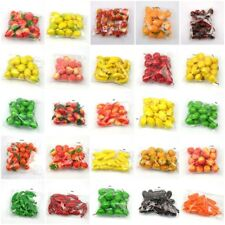 20Pcs/Set Lifelike Plastic Fruit Model Kitchen Realistic Fake Food Display Decor