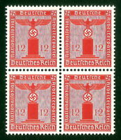 DR Nazi 3rd Reich Rare WW2 Stamp Hitler Swastika Eagle NSDAP Oficial Service War