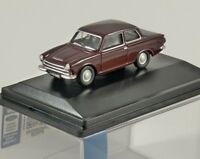 FORD CORTINA Mk1 in Black Cherry 1/76 scale model OXFORD DIECAST