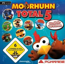MOORHUHN TOTAL 5 - PC CD-ROM - NEU & SOFORT