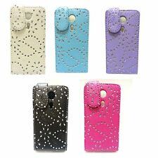CASE FOR SONY XPERIA SP GLITTER FLIP PU LEATHER IN VARIOUS COLOURS POUCH COVER