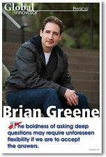 Brian Greene - NEW Famous Person Physicist Science Motivational POSTER