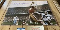 Dwight Clark Autographed/Signed 16x20 Photo COA San Francisco 49ers The Catch