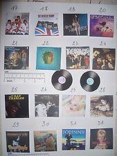 MINI  VINYL ALBUM & DISC  pour fashion royalty  DIORAMA  1/6éme  (  n°2 )