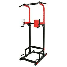 POWER TOWER-Pull Up ChinUp Fitness Multi Function Body Press Adjustable Station