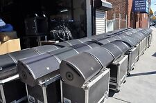 L' acoustics  115XT Hi Q Stage Monitor Wedges  PAIR /W Road Case (FREE SHIPPING)