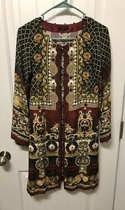 Pakistani / Indian Women Kurti/ Front Open Gown