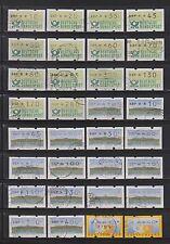 Gestempelte Automatenbriefmarken aus Posten & Lots und Bundesrepublik