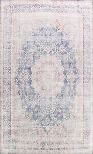 Semi-Antique Traditional Muted Area Rug Evenly Low Pile Hand-knotted Wool 10x14