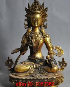 china buddhism bronze gilt Vajra tara Vajrasattva KwanYin buddha goddess statue