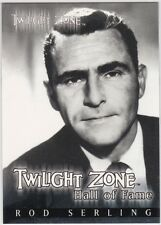 TWILIGHT ZONE SERIES 2 THE NEXT DIMENSION H1 ROD SERLING HALL OF FAME CASE /777