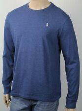 Polo Ralph Lauren Blue Long Sleeve Classic Crewneck Tee T-Shirt NWT