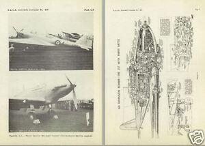 FAIREY FULMAR & BATTLE MANUALS + Documents archives rare WW2 1940's FAA Historic