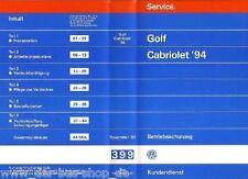 VW Golf Cabrio - Reparaturleitfaden Video - Modelljahr 1994