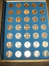 The Franklin Mint Treasury of Presidential Commemorative Medals 35 Silver