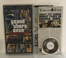 Grand Theft Auto: Liberty City Stories (Sony Psp, 2005) Tested. Complete. +Maps.
