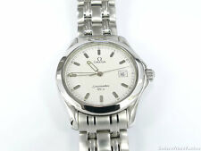Omega Seamaster 2511.21.00 White Wave Dial 120M Quartz Date 36mm