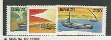 Brazil, Postage Stamp, #1323-1325 Mint Nh, 1973, Jfz