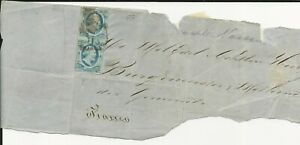 Nederland  1  enkele frankering en paartje op briefstukjes   CV 200+ €