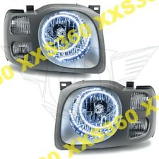 ORACLE Halo HEADLIGHTS For Nissan Xterra 02-04 WHITE LED Angel Demon Eyes