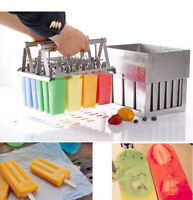 Stainless Steel Ice Cream Molds Ice-lolly Ice Bars Making Tool