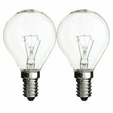 2 x 40w Oven Bulb / Cooker Light Bulbs 240v SES E14 300 Degree 220 - 240v