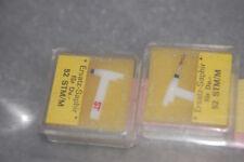 2x Ersatznadel SAPHIRNADEL DUAL STM/M 52 [neu/new] Tonacord