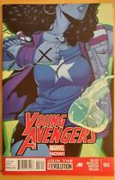 YOUNG AVENGERS #3 (2013 MARVEL NOW! Comics) ~ VF/NM Book