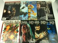 Lot of 9 HDRI  Magazines 2004-2005 See Below for Issue Numbers