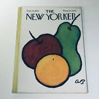 The New Yorker: Sept 26 1964 Abe Birnbaum Cover full magazine