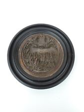 ALTES  JUBILÄUM RELIEF PLATTE ( 1815 - 1865 ) SCHLACHT BEI WATERLOO NAPOLEON