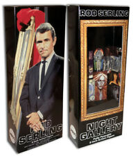 """Mego Rod Serling Box for 12"""" Action Figure Night Gallery"""