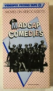 Madcap Comedies Videopix Promo VHS 1985 Warner Home Video Preview Tape