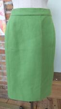 vtg Salvatore Farragamo Skirt Green Wool Size 12