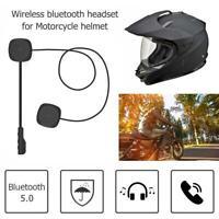 YouN MH04 Motorradhelm-Headset, kabellos, Bluetooth 5.0, Freisprecheinricht