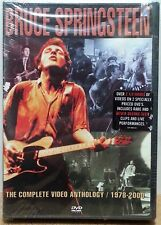 BRUCE SPRINGSTEEN COMPLETE VIDEO ANTHOLOGY / 1978-2000 2 DVD SET 33 TUNES SEALED
