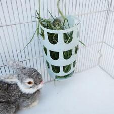 Rabbit Food Feeder Small Animals Hay Rack Pig Guinea Hay Manger Food Bin Bowl