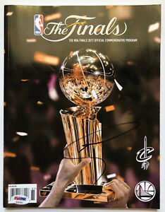 PSA/DNA Warriors #30 STEPH CURRY Signed Autographed 2017 NBA FINALS Basketball